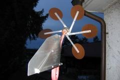 in hedingen, dezember 2005, CDs durch kupferscheiben ersetzt