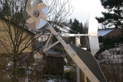 in dachsen, januar 2003